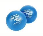 TOGU Redondo Pilates-Ball mini Ø 14cm, blau - 2er Set